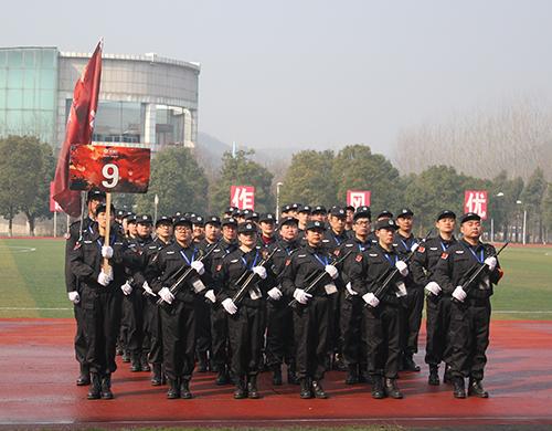晨皓控股-2017员工军训风采