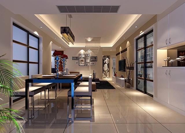 你家的装修风格和房型决定着中央空调的安装设计