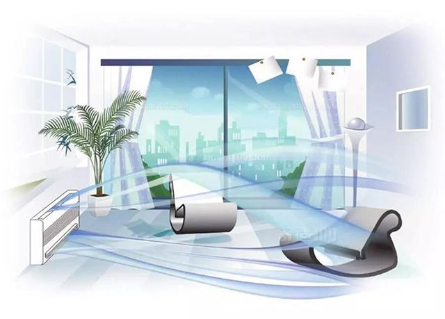 三伏天吹空调,装了威能全热新风不用开窗换气,空气新鲜更舒适