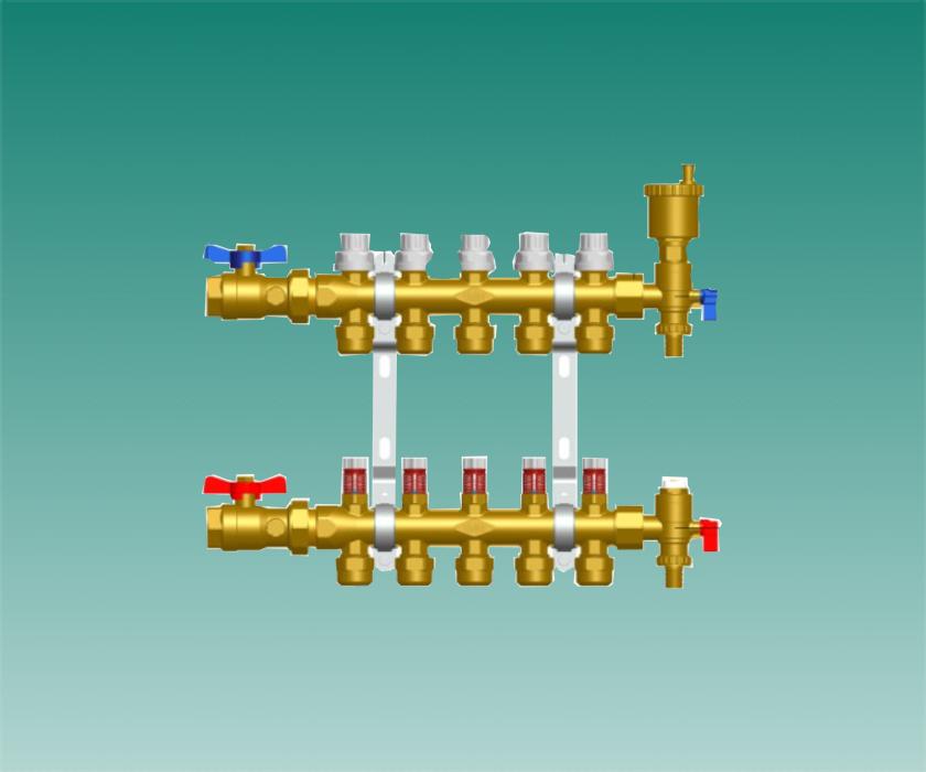 威能地暖分集水器