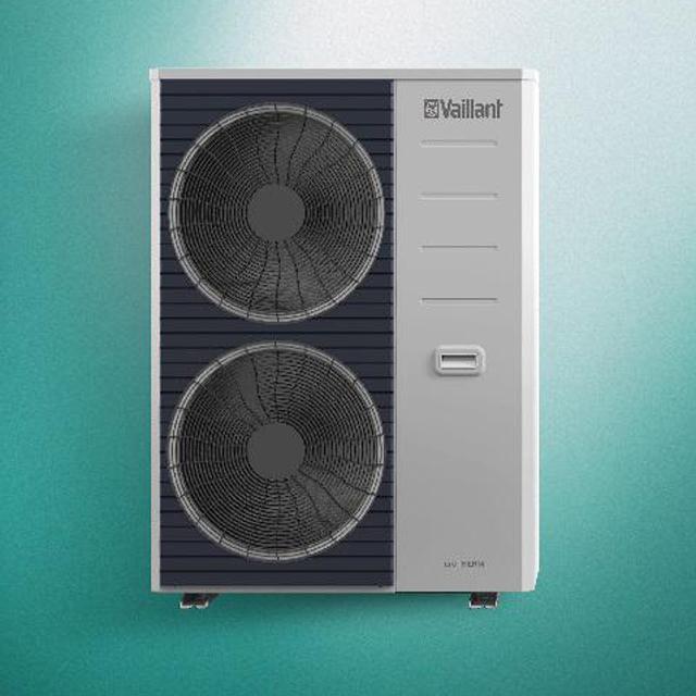 威能空气源热泵-家庭采暖中央空调二联供系统室外机