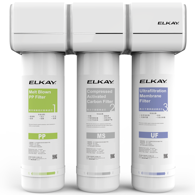 美国艾肯净水器滤芯 通用于艾肯EFU23 / EFU23D / EFU22