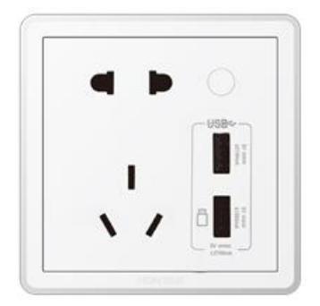 10A 智能插座 U1(计量/双 USB/ZigBee)