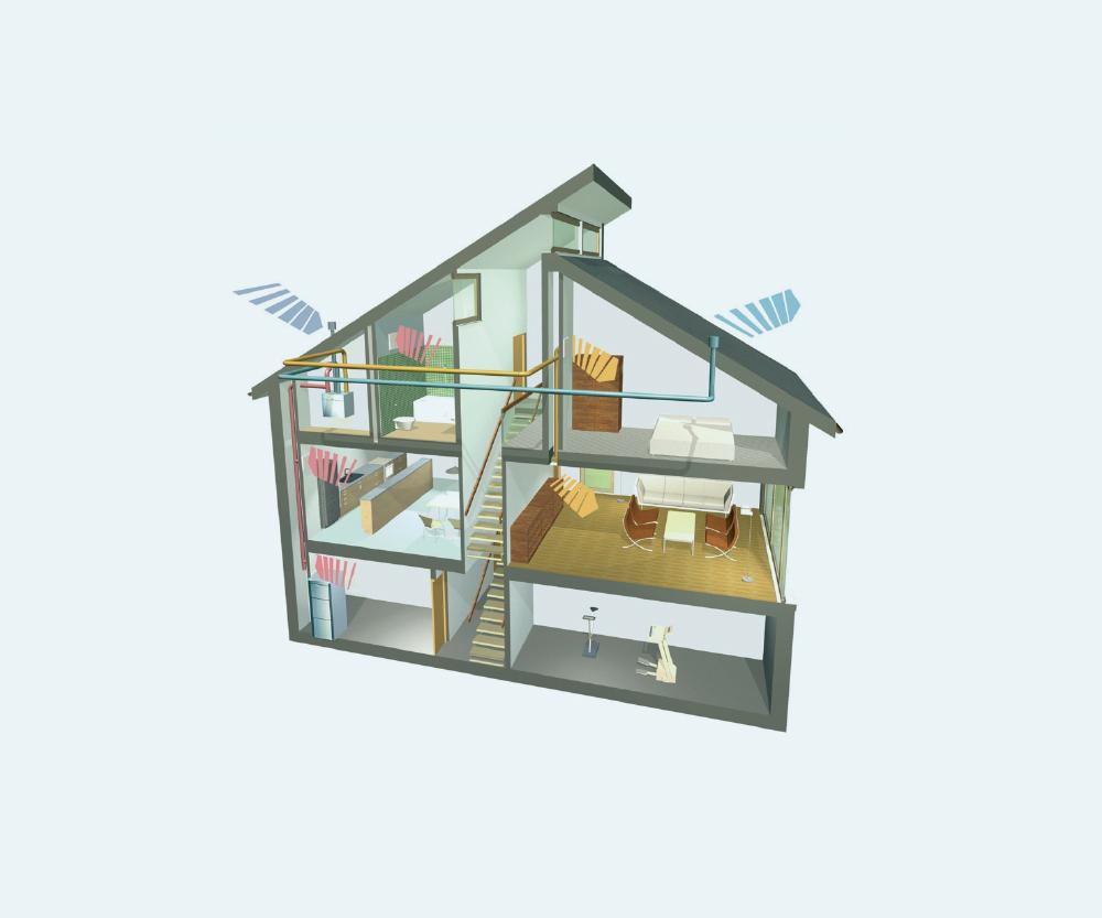 威能被动房屋新风系统